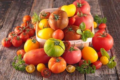 Fototapet variation av tomater
