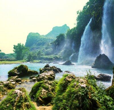 Fototapet Vattenfall i Vietnam