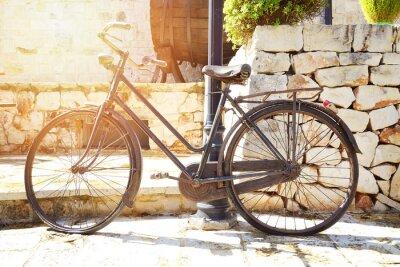 Fototapet vélo tappning décoratif