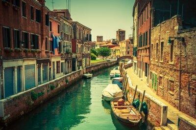 Fototapet Venedig Canal Place