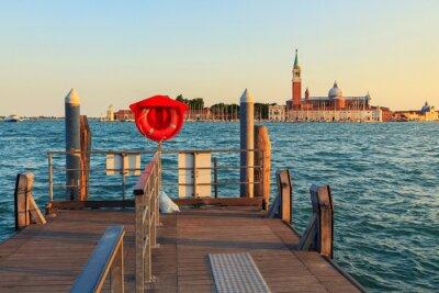 Fototapet Venedig under sommaren