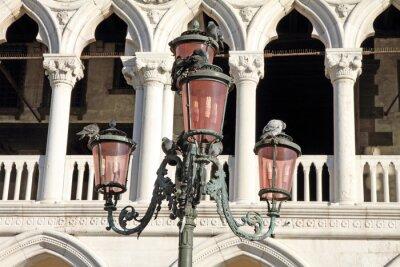 Fototapet Venedig Veneto Italien Doges slott
