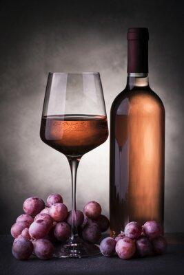 Fototapet vino rosato