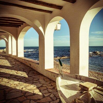 Fototapet Vintage Costa Brava