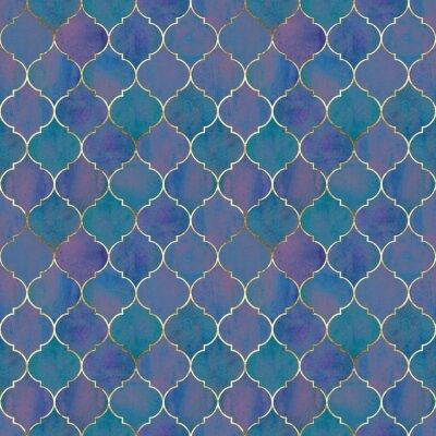 Fototapet Vintage decorative grunge indian, moroccan seamless pattern