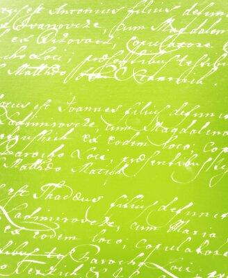 Fototapet vintage handskrivet brev