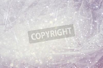 Fototapet Vintage tulle chiffon konsistens bakgrund med glitter överlägg. Bröllop koncept