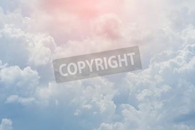 Fototapet vitt moln täckt himmel, molnig dramatisk sky, abstrakt himmel bakgrund