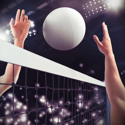 Fototapet volleyboll match