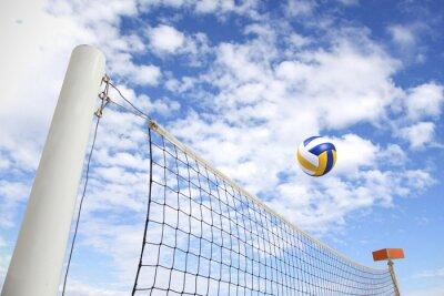 Fototapet volleybollnät