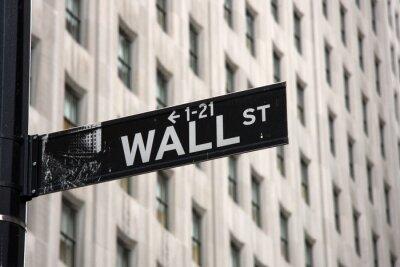 Fototapet Wall Street