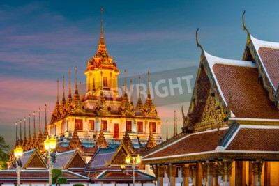 Fototapet Wat Ratchanatdaram