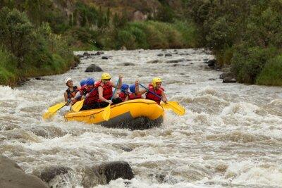Fototapet Whitewater River Rafting Adventure