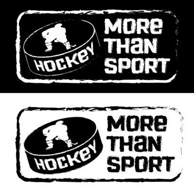 Fototapet Хоккейный принт на футболку