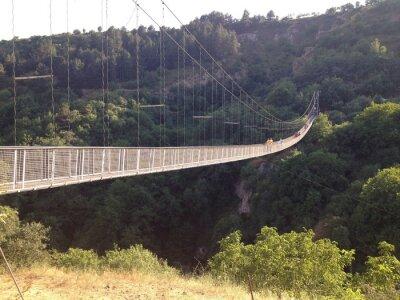 Fototapet Подвесной мост