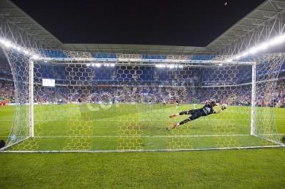 Fototapet Fernando Pacheco av RM i aktion på spanska cupen match mellan UE Cornella och Real Madrid, slutresultatet 1-4, den 29 oktober, 2014 i Cornella, Barcelona, Spanien