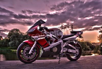 Fototapet Yamaha R6