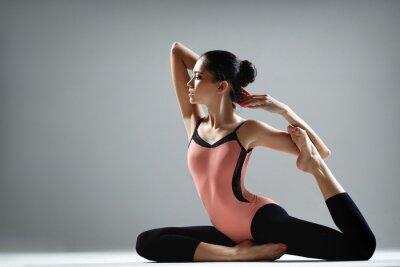 Fototapet yoga övning