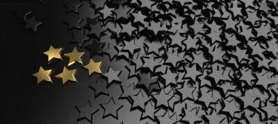 Väggdekor 5 Stars Rating