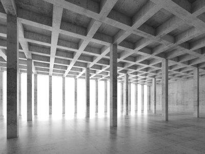 Väggdekor Abstrakt arkitekturbakgrund 3 d