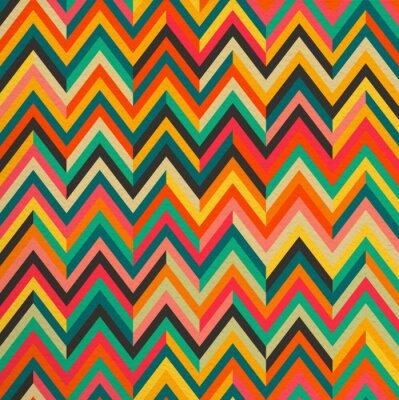 Väggdekor Abstrakt färg retro seamless bakgrund