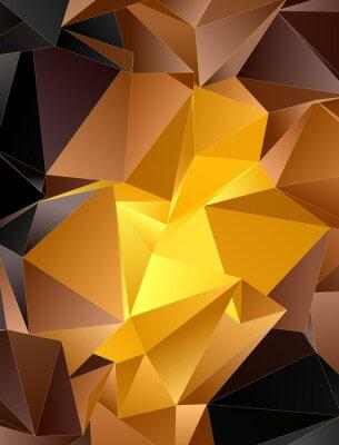 Väggdekor Abstrakt färgrik bakgrund