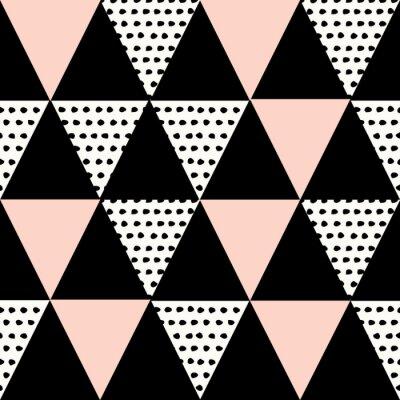 Väggdekor Abstrakt geometriska mönster