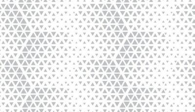 Väggdekor Abstrakt geometriskt mönster. Sömlös vektorbakgrund. Vit och grå halvton. Grafiskt modernt mönster. Enkel grafisk design för galler.