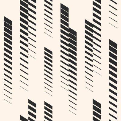Väggdekor Abstrakt grafiskt sömlöst mönster med vertikala linjer, spår, halvtonband. Sportmönster. Urban mönster.