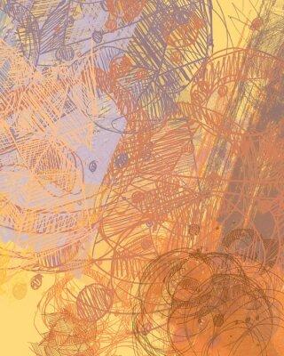 Väggdekor Abstrakt målning på duk. Handgjord konst. Färgglada konsistens. Modernt konstverk. Stryk av fettfärg. Penseldrag. Samtida konst. Konstnärlig bakgrundsbild.