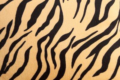 Väggdekor abstrakt med Bengal tiger textur