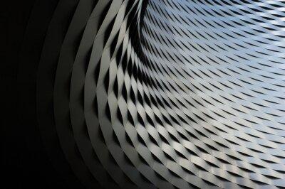 Väggdekor abstrakt metallisk struktur med repetitiva mönster bakgrund