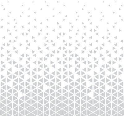 Väggdekor abstrakt sömlös geometrisk triangelmönster vektor bakgrund