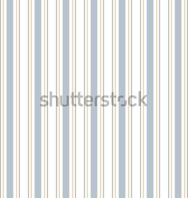 Väggdekor Abstrakt vektor randig sömlös modell med färgade ränder. Färgglad pastellbakgrund