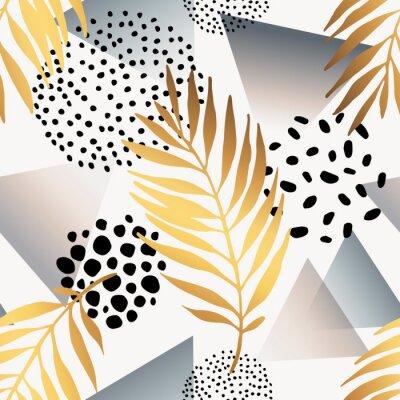 Väggdekor Abstrakta sömlösa mönster.
