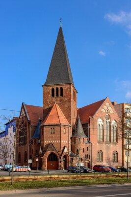 Väggdekor Advent Church i Berlin Bötzowviertel
