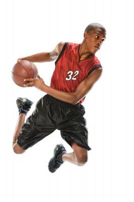 Väggdekor African American basketspelare