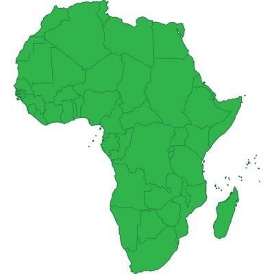 Väggdekor afrika