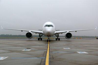 Väggdekor Airbus A350 frontal