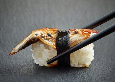 Väggdekor ål sushi