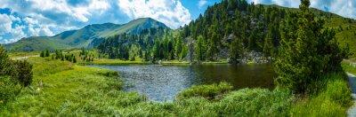 Väggdekor Alplandskap
