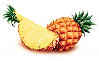 Väggdekor ananas