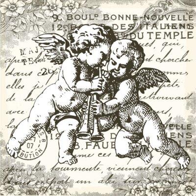 Väggdekor änglar