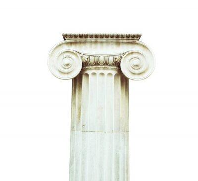 Väggdekor Antik kolumn i dorisk stil