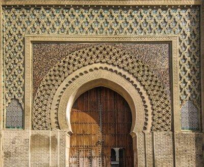 Väggdekor Antika portarna i Meknes, Marocko