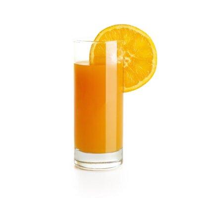 Väggdekor Apelsinjuice med skiva
