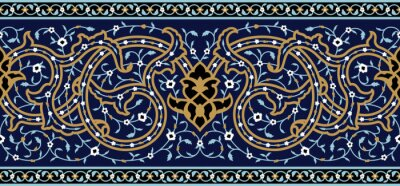 Väggdekor Arabic Complex Simplex gränsar