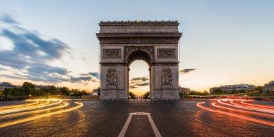 Väggdekor Arc de Triomphe Paris