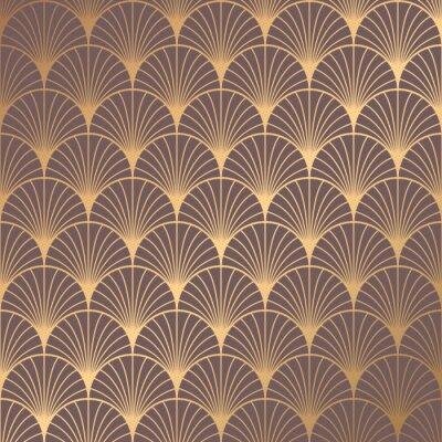 Väggdekor Art Deco Pattern