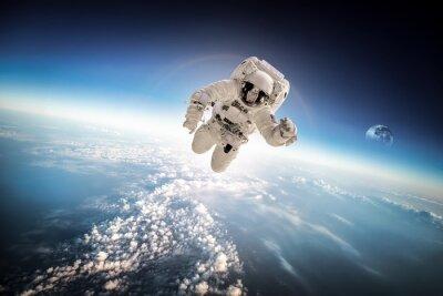 Väggdekor Astronaut i yttre rymden